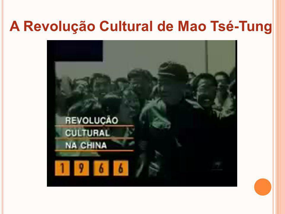 A Revolução Cultural de Mao Tsé-Tung