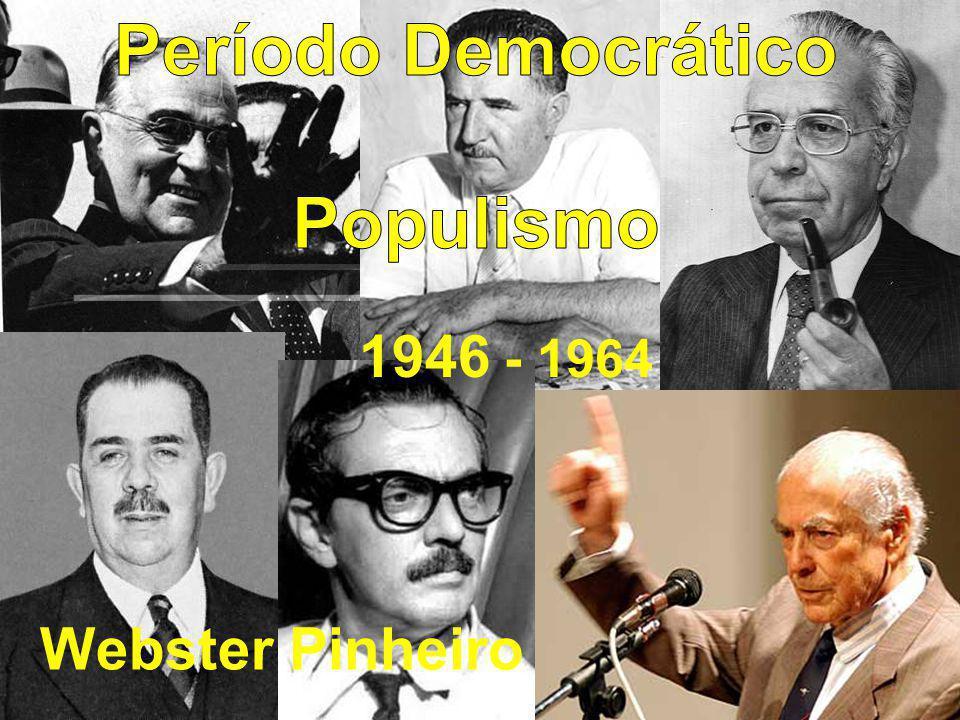 A sucessão presidencial – vitória da dupla Jan – Jan (Jânio – Jango) X Jânio Quadros Marechal Teixeira Lott