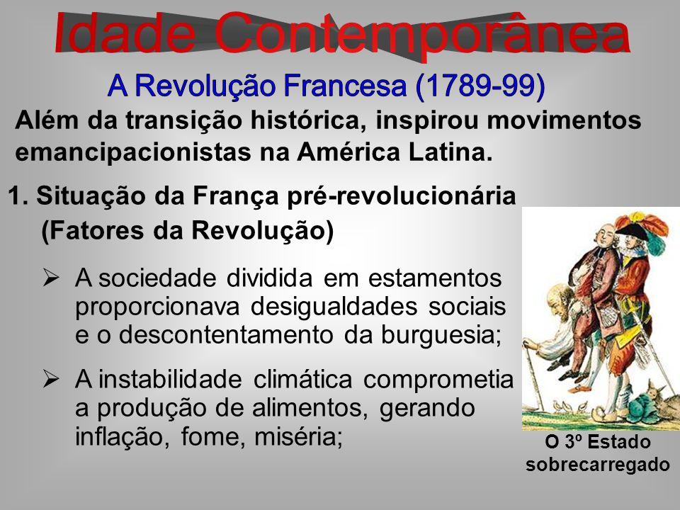 Além da transição histórica, inspirou movimentos emancipacionistas na América Latina.