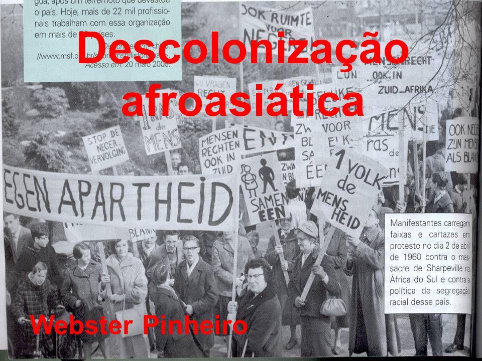 Descolonização afroasiática Webster Pinheiro