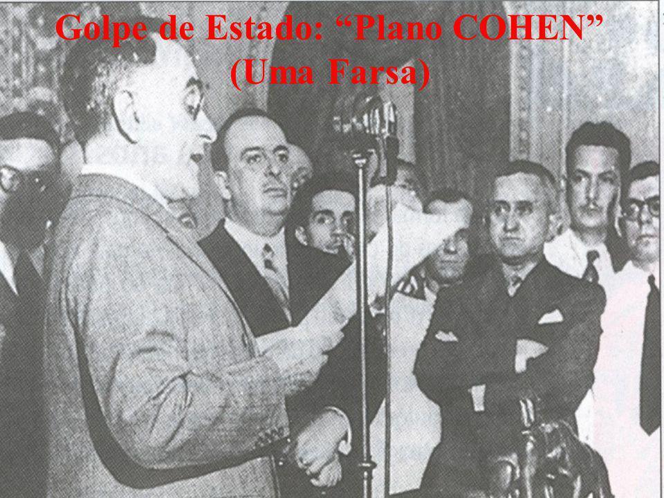 Golpe de Estado: Plano COHEN (Uma Farsa)