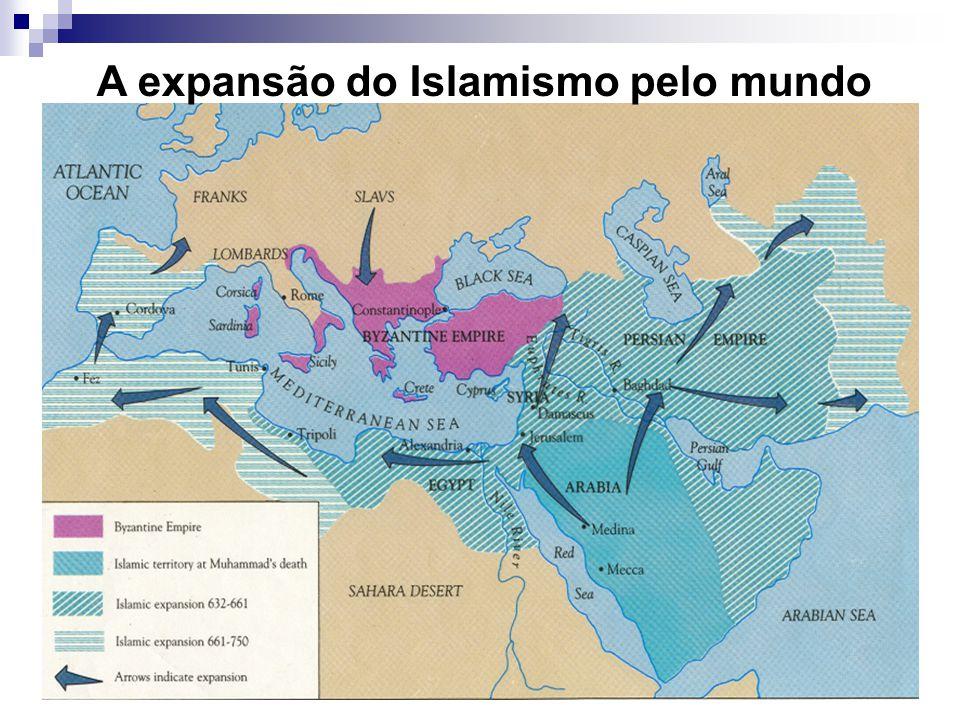 A expansão do Islamismo pelo mundo