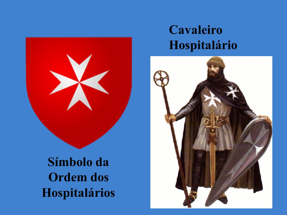 Símbolo da Ordem dos Hospitalários Cavaleiro Hospitalário