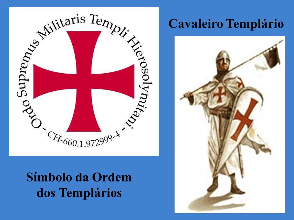 Símbolo da Ordem dos Templários Cavaleiro Templário
