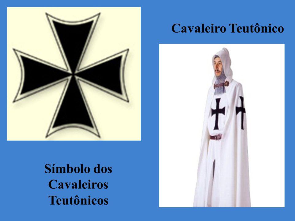 Símbolo dos Cavaleiros Teutônicos Cavaleiro Teutônico