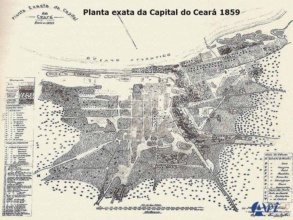 Planta exata da Capital do Ceará 1859