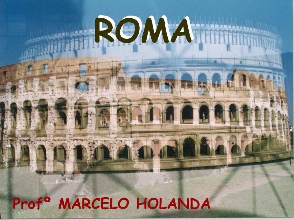 As esculturas romanas eram feitas com muita habilidade e realismo.