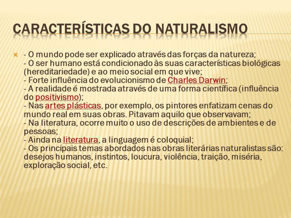 Este movimento chegou ao Brasil no final do século XIX.