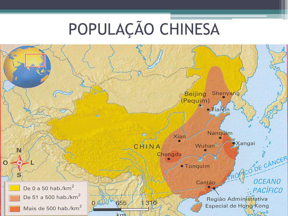 POPULAÇÃO CHINESA