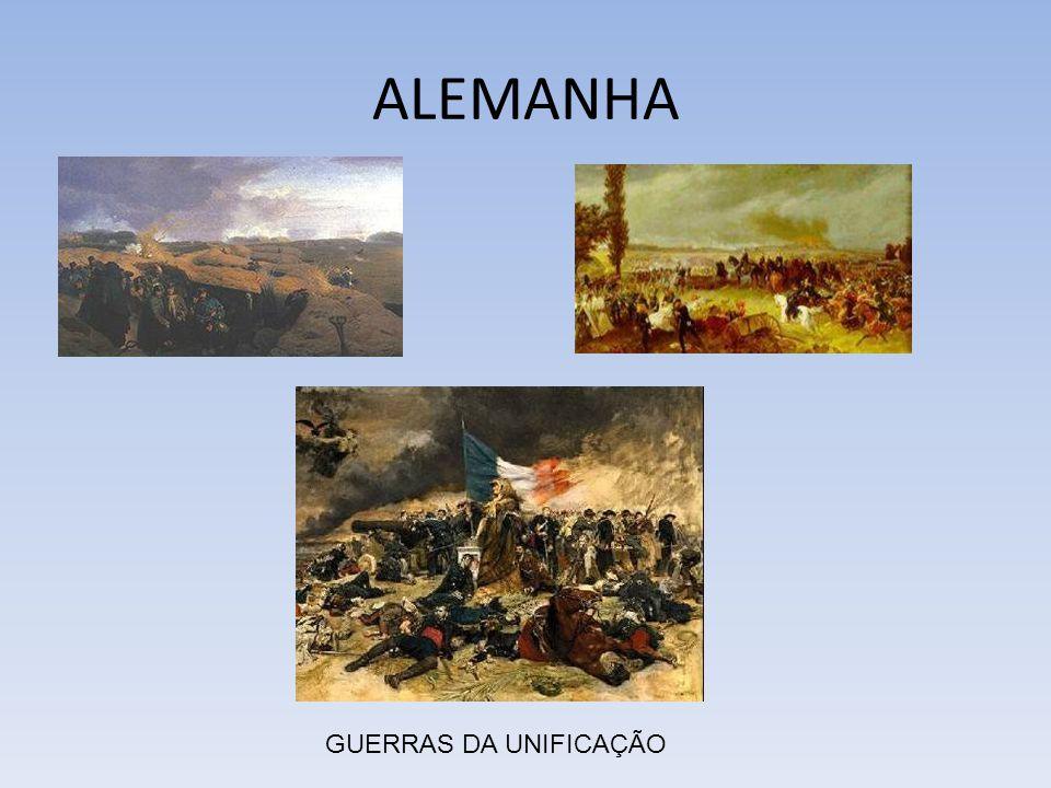 ALEMANHA GUERRAS DA UNIFICAÇÃO