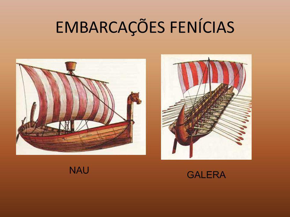 EMBARCAÇÕES FENÍCIAS NAU GALERA