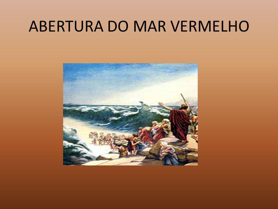 ABERTURA DO MAR VERMELHO