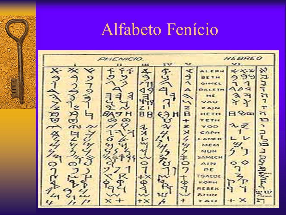 Alfabeto Fenício