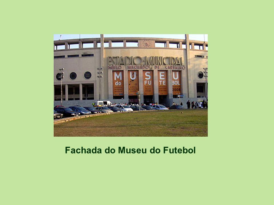 Fachada do Museu do Futebol