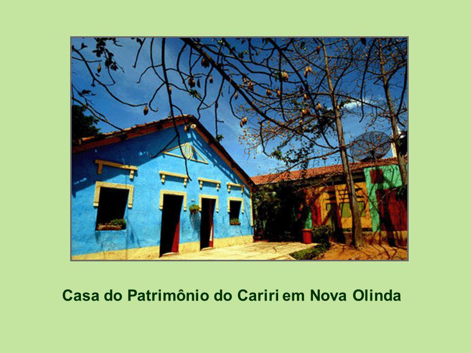 Casa do Patrimônio do Cariri em Nova Olinda