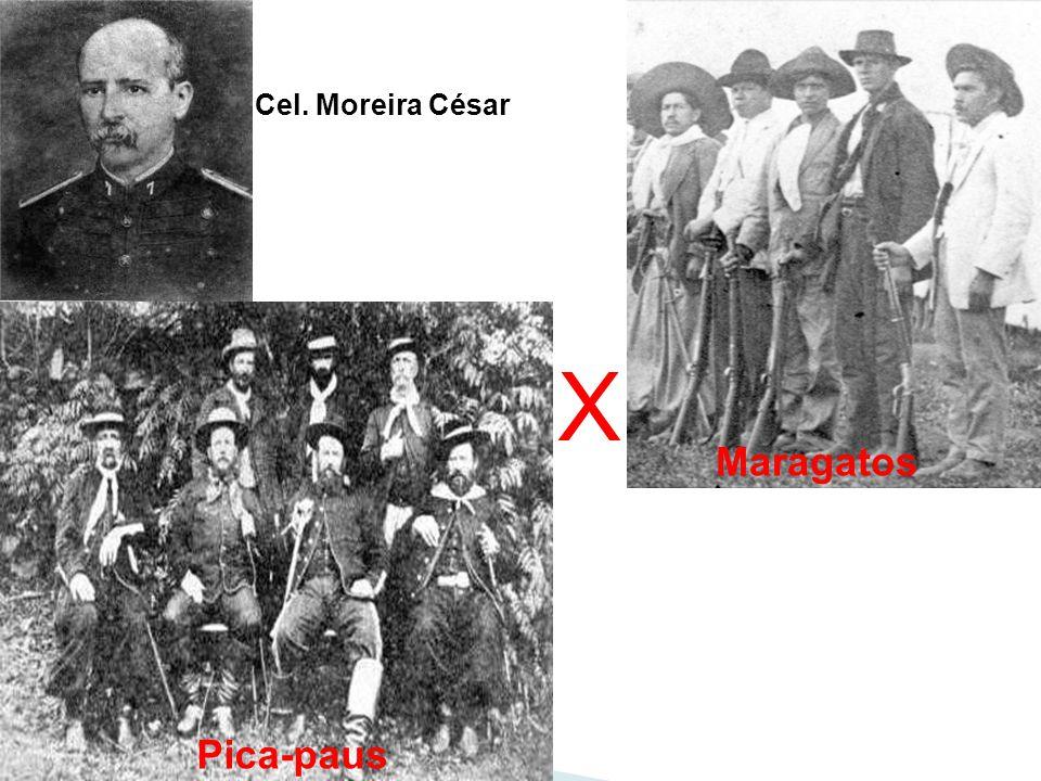 X Pica-paus Maragatos Cel. Moreira César