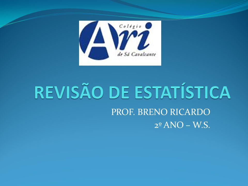 PROF. BRENO RICARDO 2º ANO – W.S.