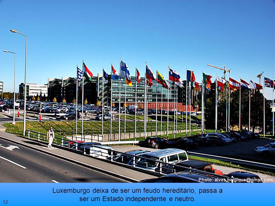 A diplomacia européia agiu rapidamente. Uma conferência internacional foi realizada em Londres e assinado o tratado pelo qual a França renunciava sua