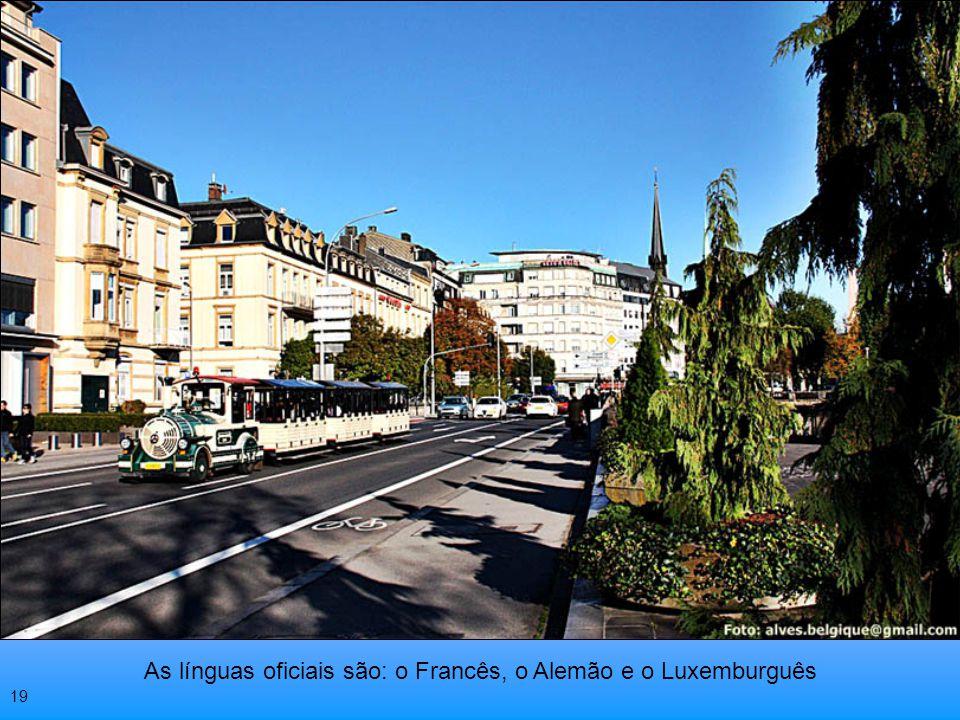 Luxemburgo faz fronteiras com a Bélgica França e Alemanha 18