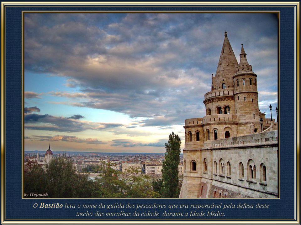 O Bastião constitui um belvedere, com muitas escadas e caminhos.