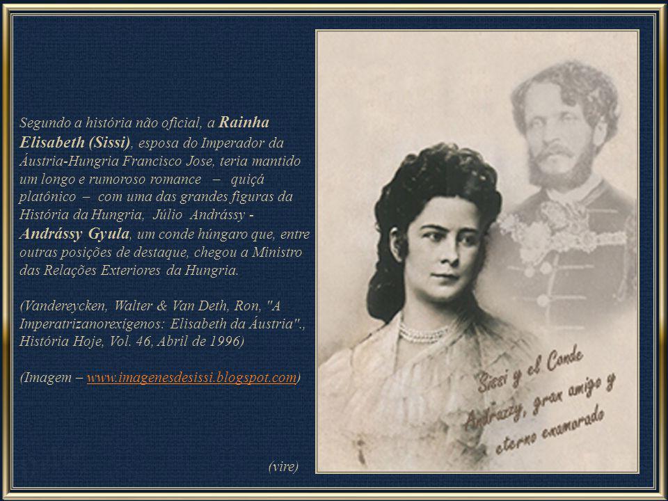 Mirante Elizabeth ( 1908-1910). Erzsberet, porque em 1882 a rainha Elizabeth (Sissi), esposa do imperador austro-húngaro Francisco José, fez uma excur
