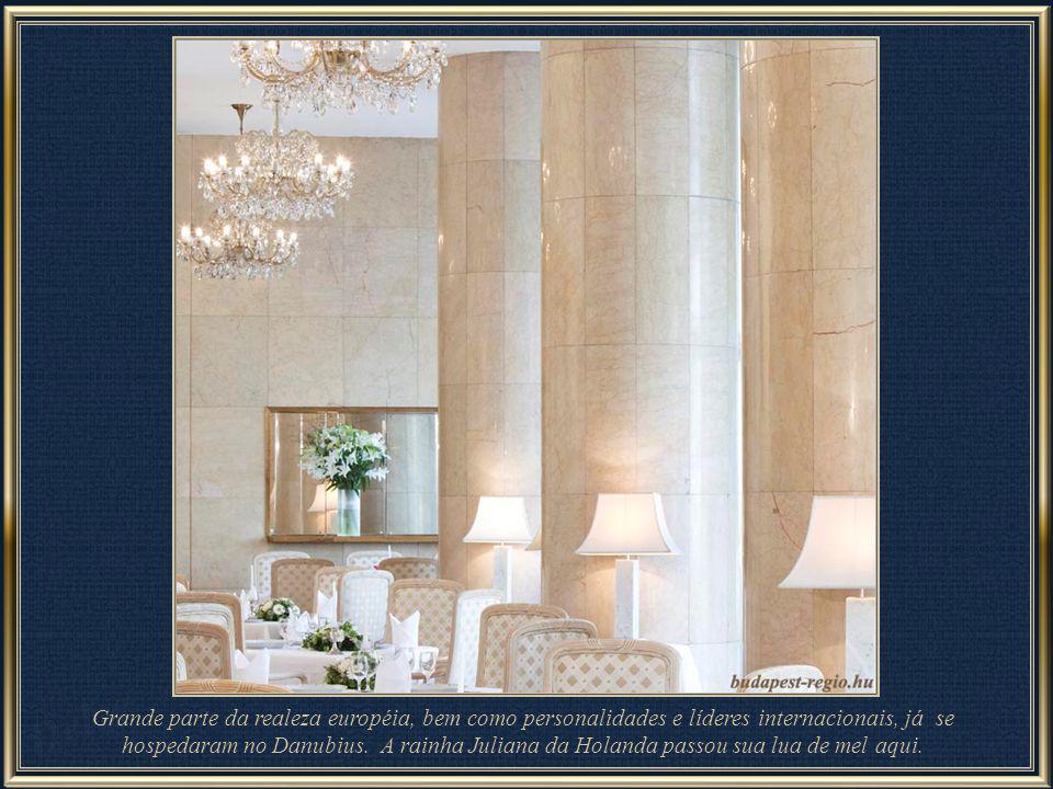 Junto à Colina Gellért e à ponte da Liberdade (Szabadság), encontra-se o famoso Danubius Hotel Gellért, um primeira classe de quatro estrelas. Foi con