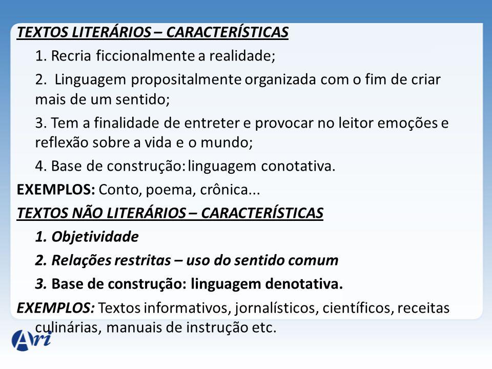FUNÇÕES DA LITERATURA 1.Hedonística: proporcionar prazer retratando o belo (obra e verdade).