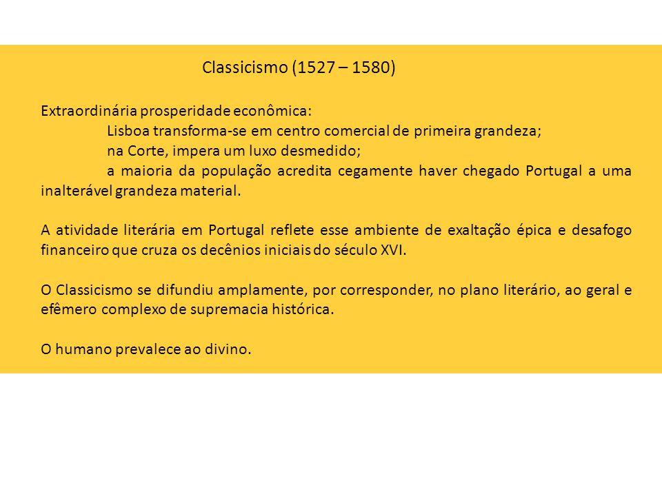 Extraordinária prosperidade econômica: Lisboa transforma-se em centro comercial de primeira grandeza; na Corte, impera um luxo desmedido; a maioria da