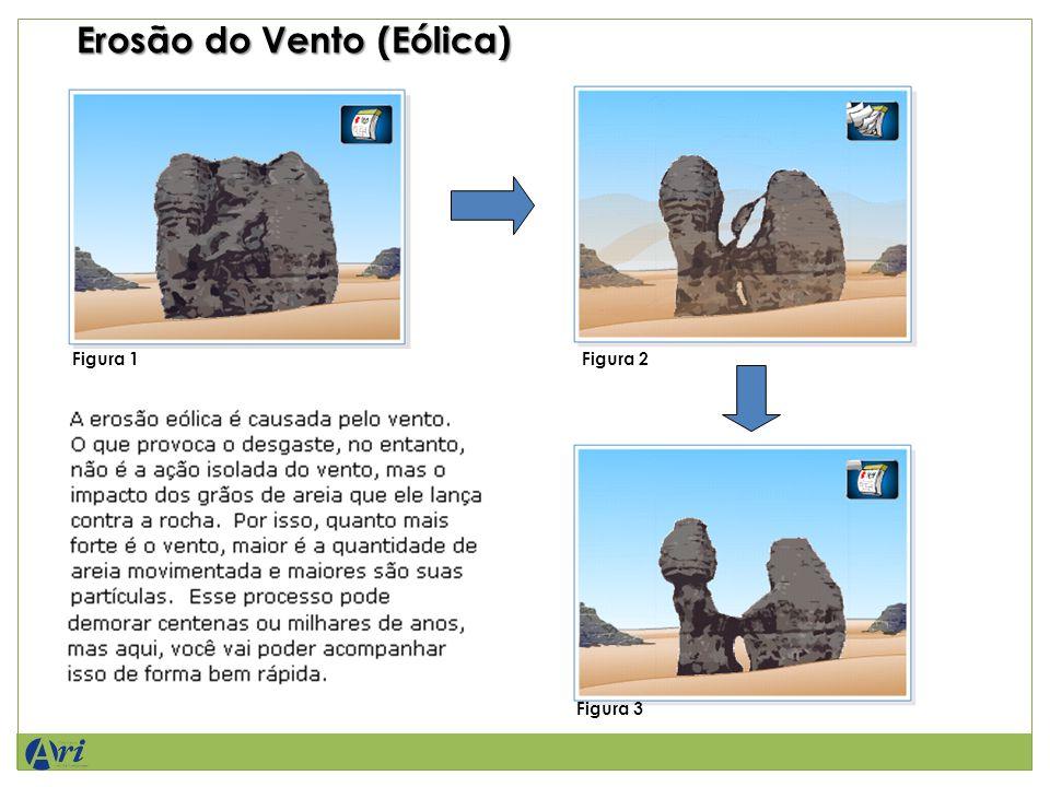 Erosão do Vento (Eólica) Figura 1Figura 2 Figura 3