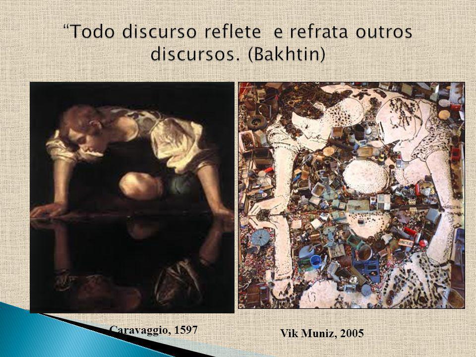 Caravaggio, 1597 Vik Muniz, 2005