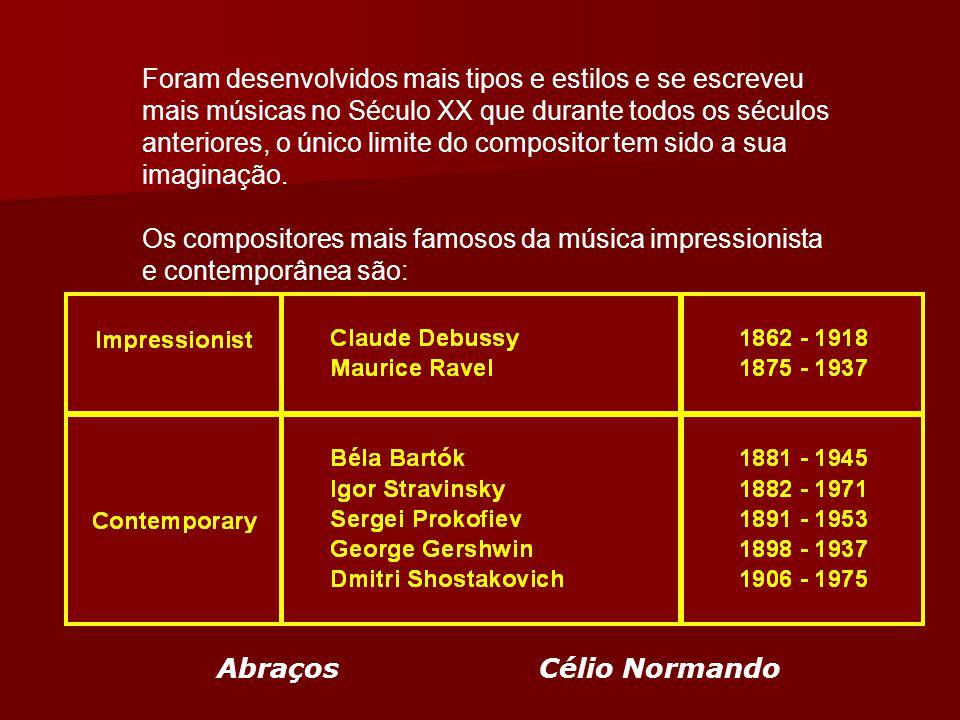 Neoclassicismo O estilo Neoclássico é uma música similar a que se fazia no período clássico, usa sons e instrumentos mais modernos, porém segue os ideais e formatos do período clássico original.