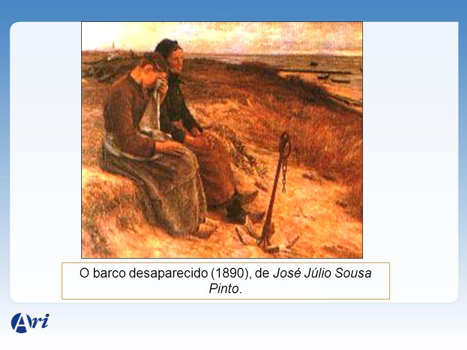 O barco desaparecido (1890), de José Júlio Sousa Pinto.