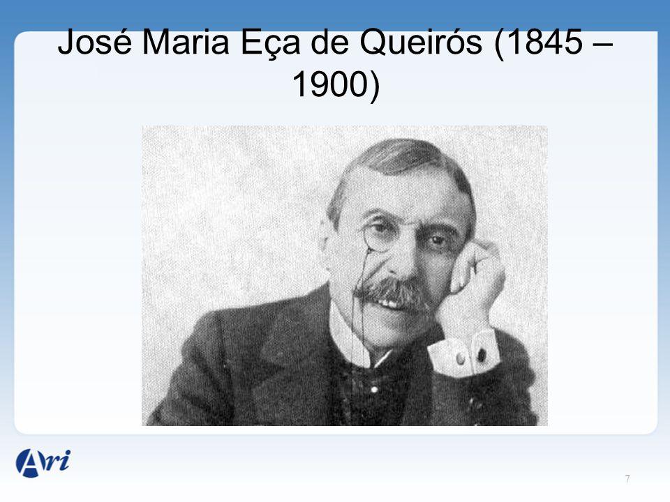 7 José Maria Eça de Queirós (1845 – 1900)