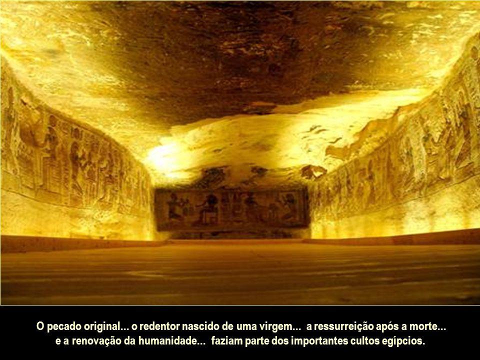 Essa foi a verdadeira contribuição para o progresso da humanidade. Os egípcios inventaram tanto o livro... quanto o material no qual o primeiro deles