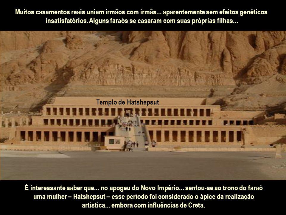 No Egito antigo... reinou a monarquia absoluta. O rei... chamado Faraó... era considerado um deus encarnado na Terra... e recebia o título de Filho do