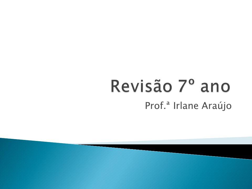 Prof.ª Irlane Araújo