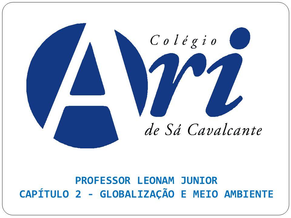 PROFESSOR LEONAM JUNIOR CAPÍTULO 2 - GLOBALIZAÇÃO E MEIO AMBIENTE