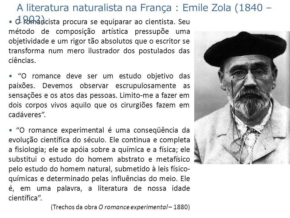Germinal (1885): o romance do naturalismo francês Elevou a estética e a descrição naturalistas a um novo patamar de realismo e crueza.