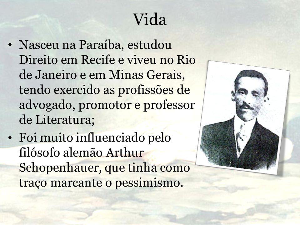 Vida Nasceu na Paraíba, estudou Direito em Recife e viveu no Rio de Janeiro e em Minas Gerais, tendo exercido as profissões de advogado, promotor e pr