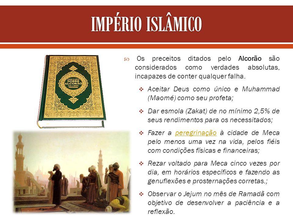 Os preceitos ditados pelo Alcorão são considerados como verdades absolutas, incapazes de conter qualquer falha. Aceitar Deus como único e Muhammad (Ma