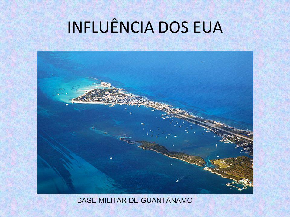 INFLUÊNCIA DOS EUA BASE MILITAR DE GUANTÂNAMO