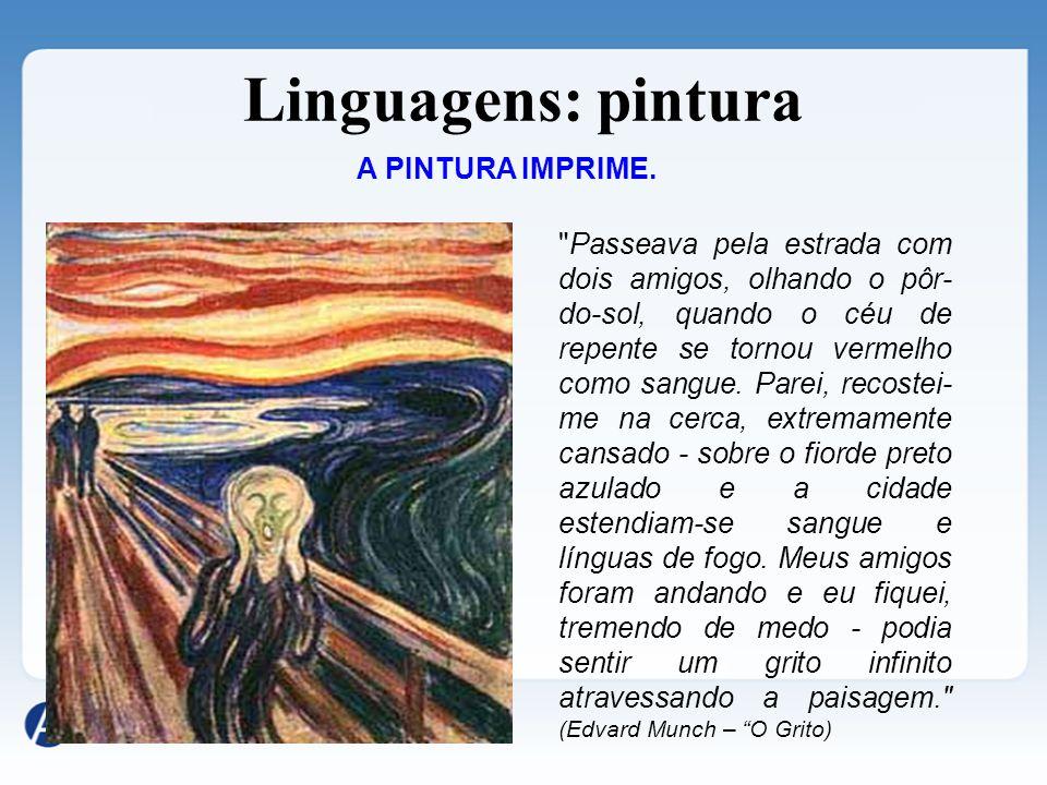 Linguagens: cinema O AUTO DA COMPADECIDA TEMPOS MODERNOS O CINEMA MOVIMENTA.