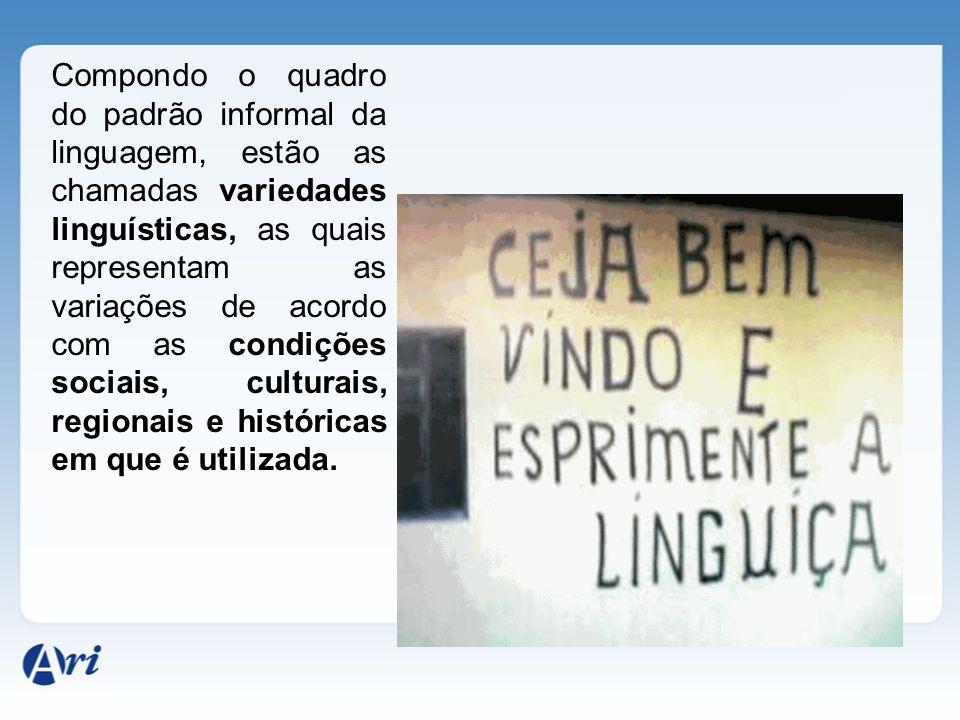 As línguas sofrem transformações e adaptações, a fim de acompanhar as mudanças da sociedade em que elas se realizam e dos falantes. Às diversas formas