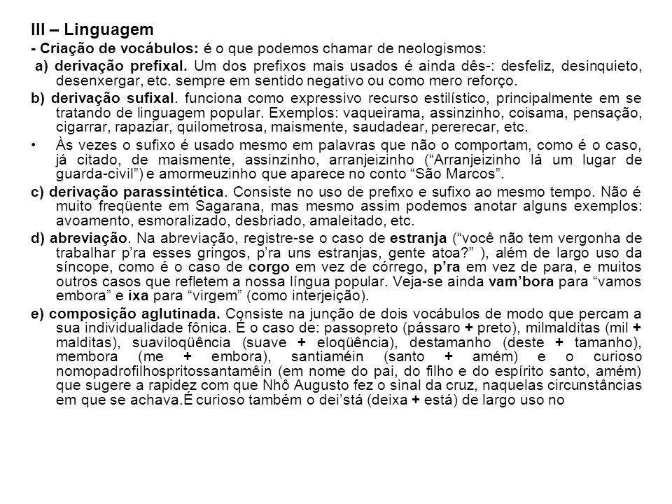 09) A hora e a vez de Augusto Matraga - Epígrafe Eu sou pobre, pobre, pobre, vou-me embora, vou-me embora...
