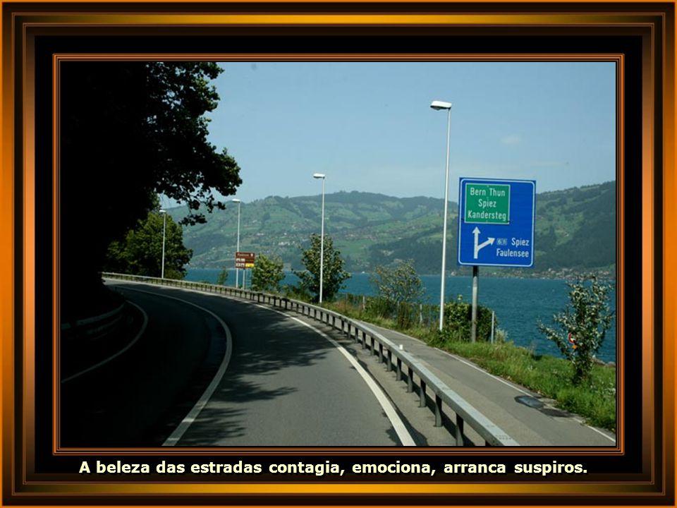 A beleza das estradas contagia, emociona, arranca suspiros.