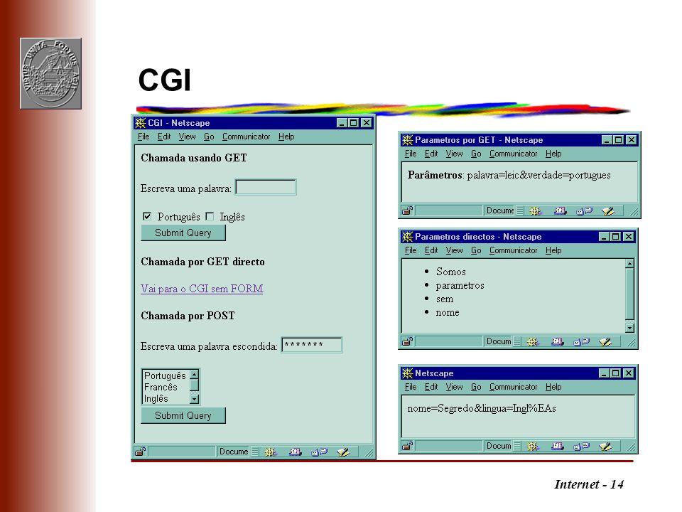 Internet - 14 CGI