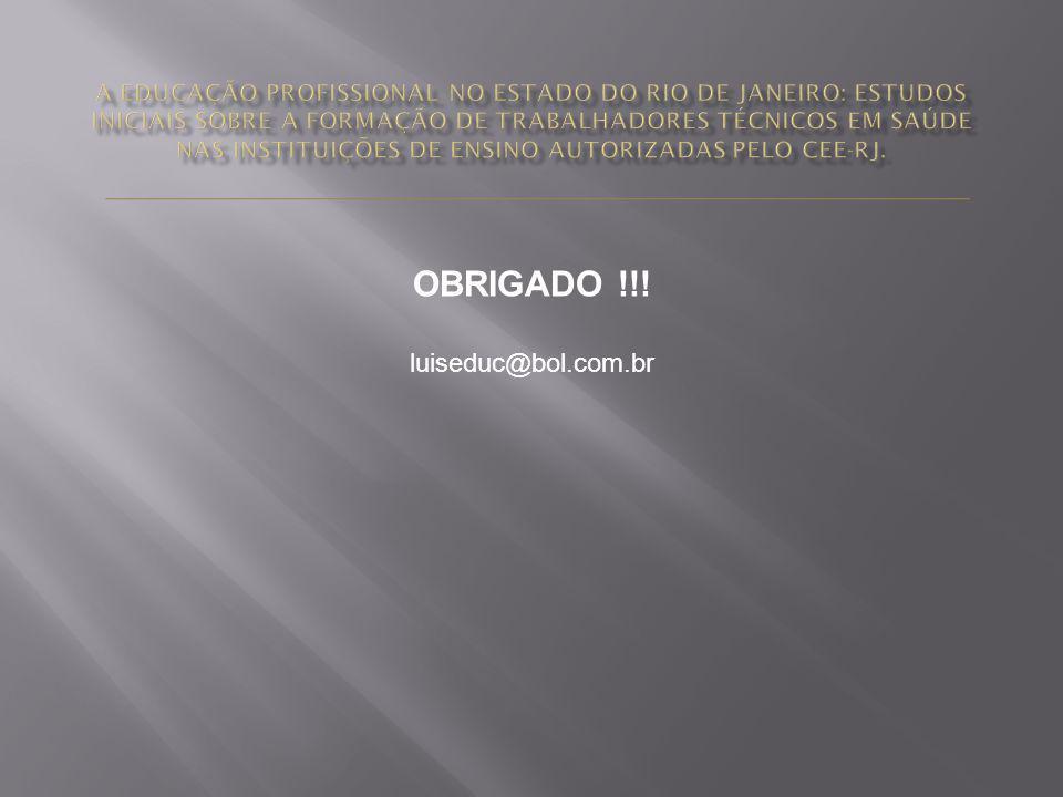 OBRIGADO !!! luiseduc@bol.com.br