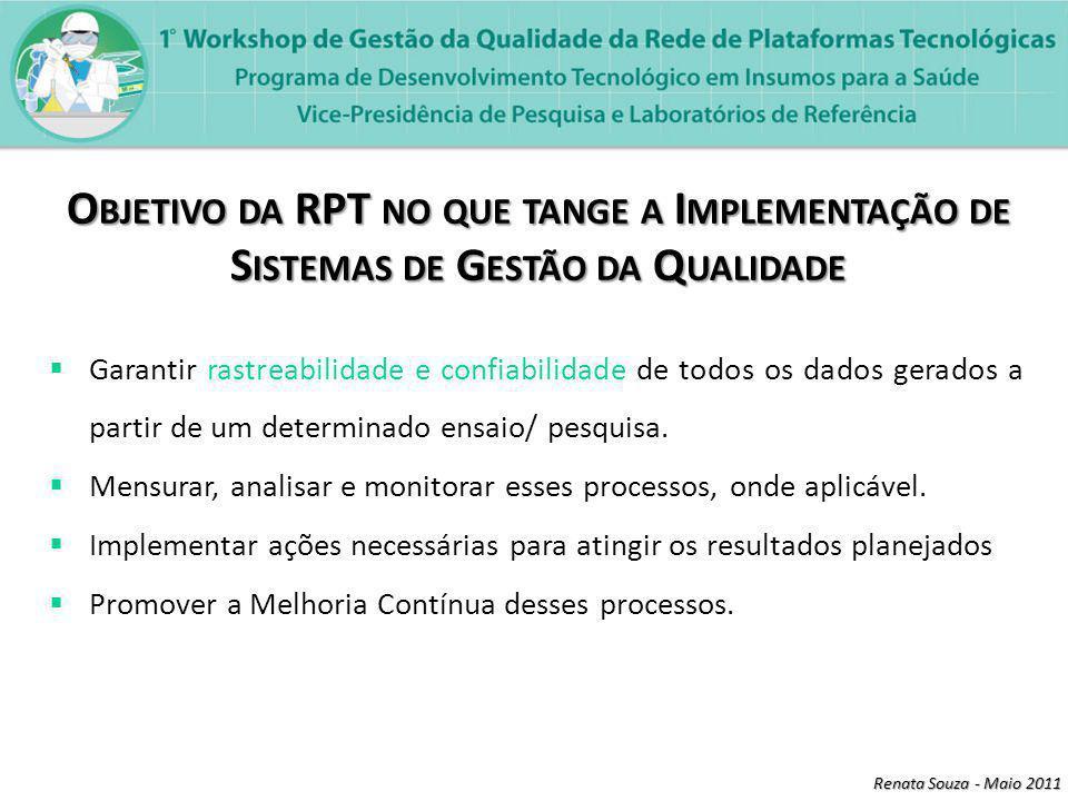 Renata Souza - Maio 2011 Linearidade Linearidade de um procedimento analítico é sua habilidade (dentro de uma determinada faixa) de obter resultados de ensaio que são diretamente proporcionais à concentração (quantidade) do analito na amostra.