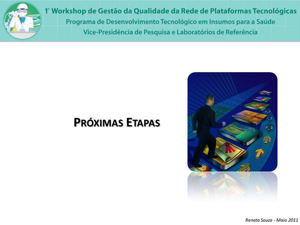 Renata Souza - Maio 2011 Os equipamentos integrantes da RPT devem ter um LOG BOOK, o qual deve possuir fichas de registro de: Uso, Verificação (Diária, Mensal ou quando usa), Calibração e Manutenção.