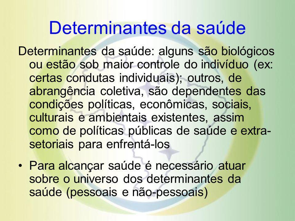 Campo da saúde Campo da saúde Saúde Biologia humana Ambiente Serviços de saúde Estilos de vida